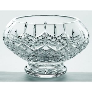 "Galway Crystal - 10"" Footed Bowl"