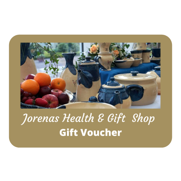 Jorenas Health & Gift Shop Gift Voucher