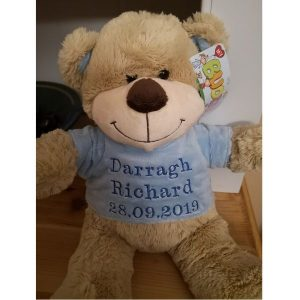 Personalised New Baby Teddy