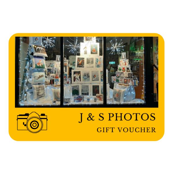 J & S Photos Gift Voucher
