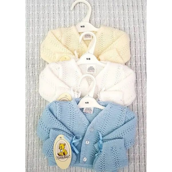 Baby cardigan and Booties 2