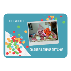 Colourful Things Gift Shop Gift Voucher