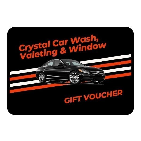 Crystal Car Wash Valeting and Window Gift Voucher