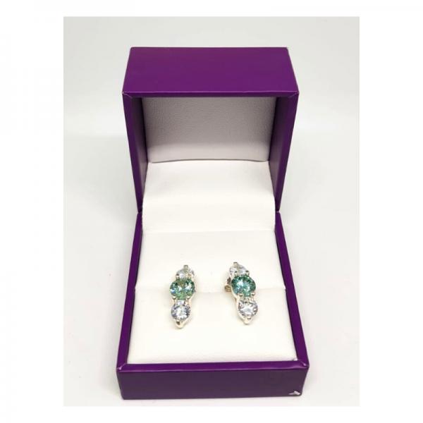 Green Tone Earrings