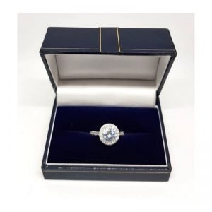 Halo Stone Ring