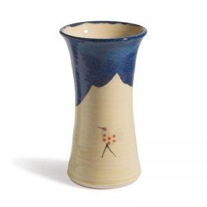 Honey and Blue Vase - Mukross
