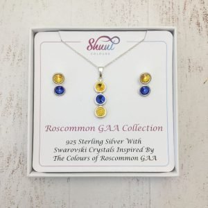 Roscommon GAA Pendant & Earrings