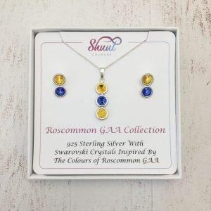 Roscommon GAA Pendant & Earrings
