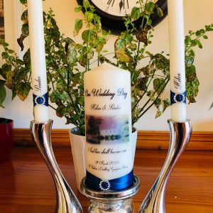 Wedding Candle with Photo