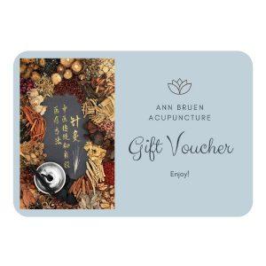 Ann Bruen Acupuncture Gift Voucher