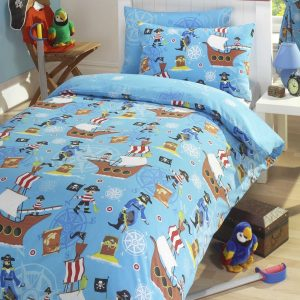Sea Pirates Kids Duvet Set