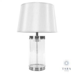Carlee Table Lamp 55cm Silver