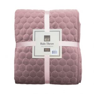 HAlo Lilac Throw Scatterbox