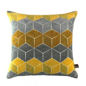 Lennox Mustard Cushion Scatterbox