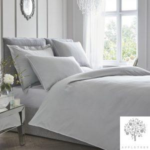 Plain Dye Silver Duvet Set