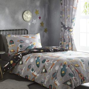 Space Man Duvet Set Side 1