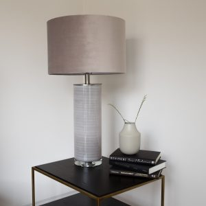 Table Lamp Ceramic Taupe
