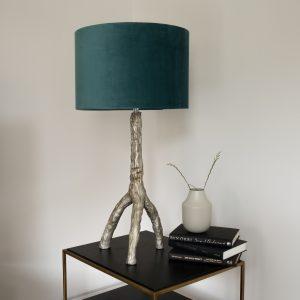 Tripod Table Lamp Teal