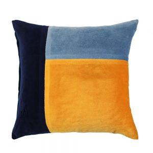 Turner Blue Ochre Cushion