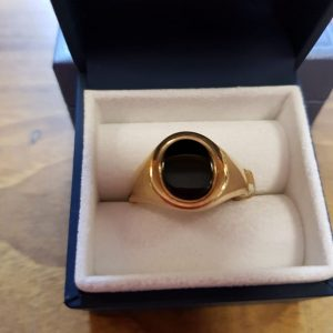 9kt Gold Gents Ring