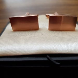Rose Gold Cuff Links