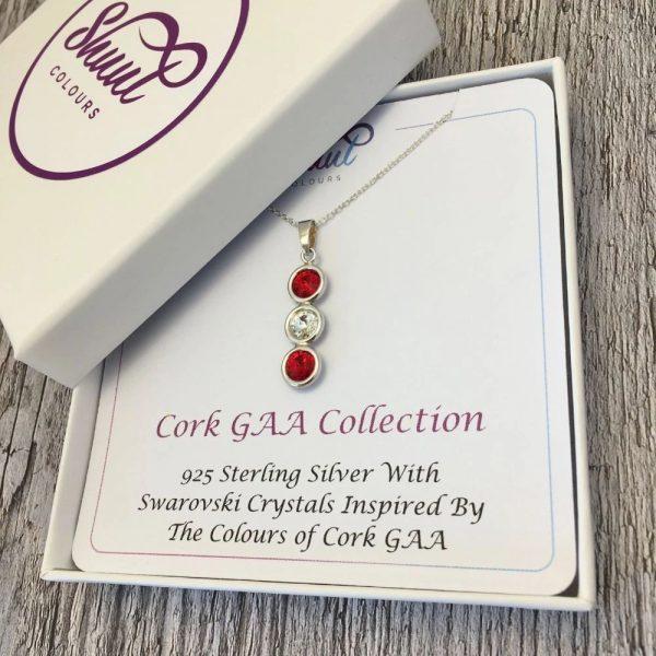 Cork GAA Gift - Pendant Necklace
