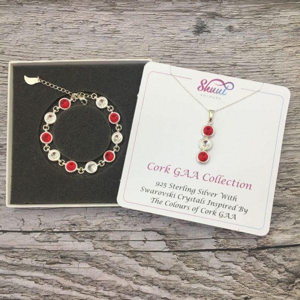 Cork GAA Gift Set - Bracelet & Pendant