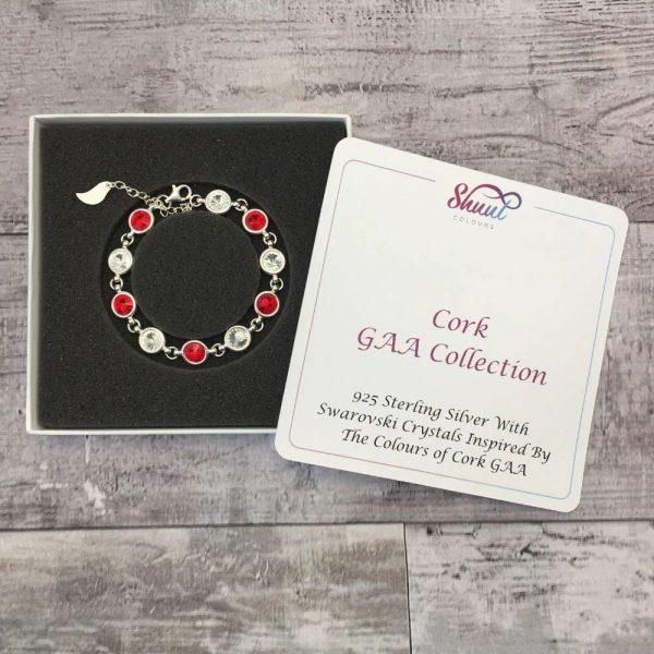Cork GAA Gift - Sterling Silver Bracelet
