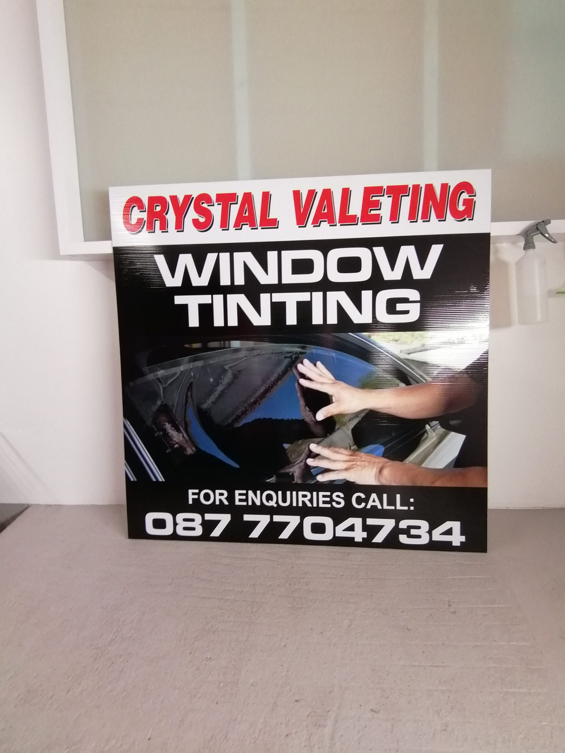 Crystal Car Wash valeting and window Tinting