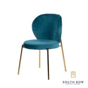 Diamond Stitch Chair Teal South Row