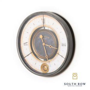 South Row Wall Clock Grey