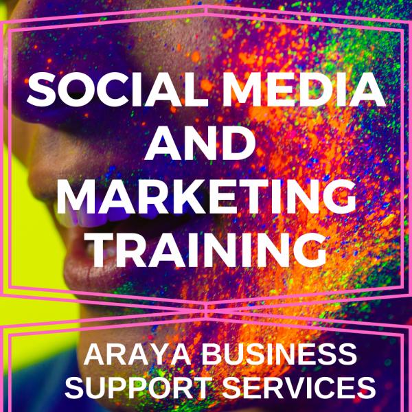 Social Media and Marketing Training
