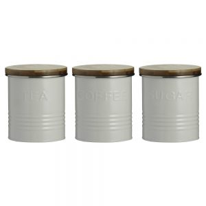 Typhoon Cream TCS Canister Set