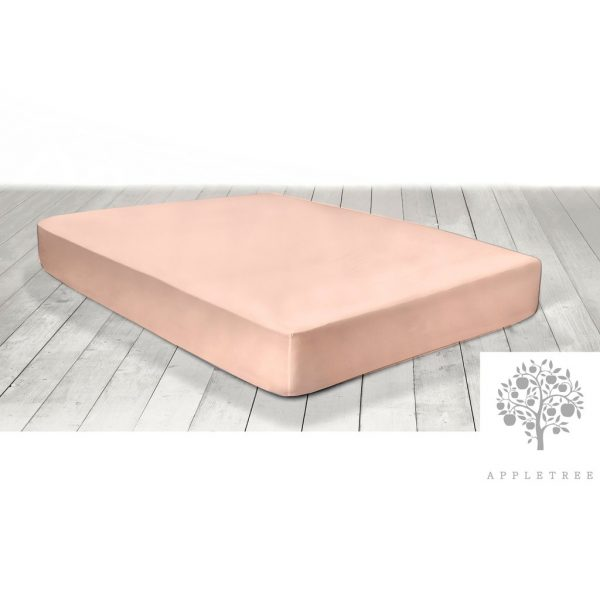 Appletree Blush Extra Deep Fitted Sheet
