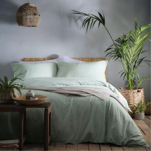 Cassia Duvet Set Green Appletree