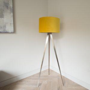 Mustard Tripod Floor Lamp