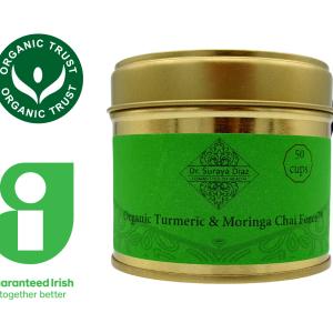 Organic Turmeric Moringa Chai Force_ Dr Suraya Diaz