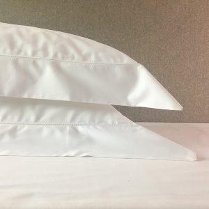 Carnaby Hemstitch Bedding White