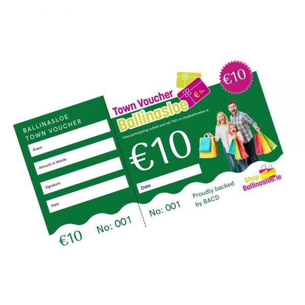 €10 Town Voucher Ballinasloe