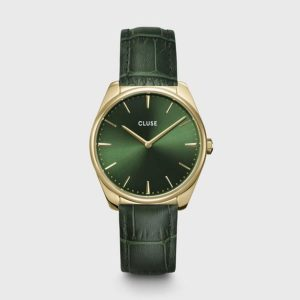 Forest Green Cluse Watch