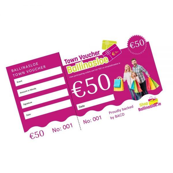 €50 Town Voucher Ballinasloe