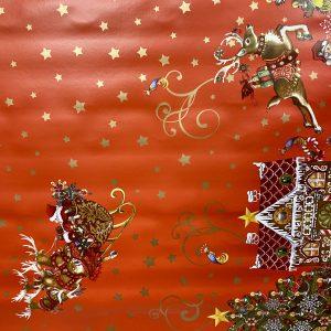 Rudolph Christmas Table Cloth