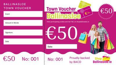 50 Town Voucher