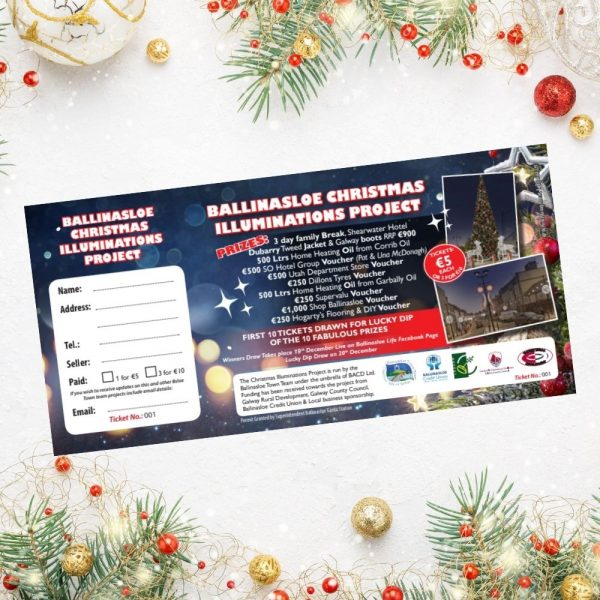 Tickets for Ballinasloe Christmas Lights