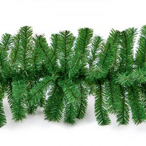 2.7m Artificial Green PVC Garland
