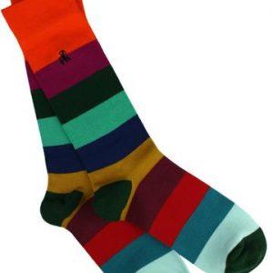 Swole Panda Bamboo Socks Multicolour Stripe