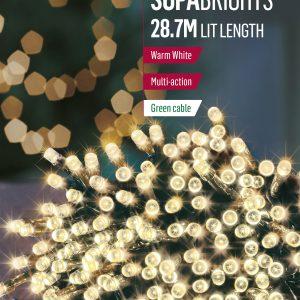 360 LED Supabrights Warm White