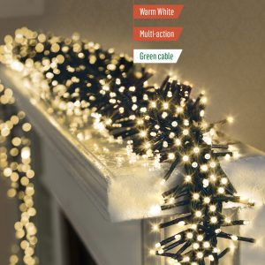 480 LED Clusterbrights Warm White