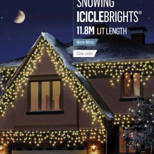 480 LED Icicle Brights Warm White