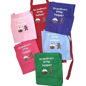 Personalised Children's Aprons With Name & Logo
